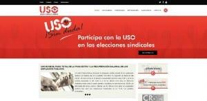 Nueva web USO