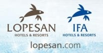 logo lopesan hotel group