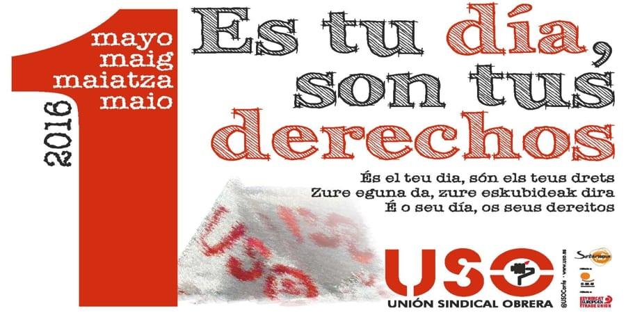 Manifiesto 1 de mayo es tu d a son tus derechos uso for Gimnasio 1 de mayo