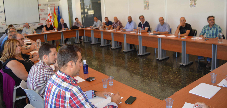 20161006 firma convenio sitel madrid reuni n delegados 2 uso for Convenio oficinas y despachos madrid 2016