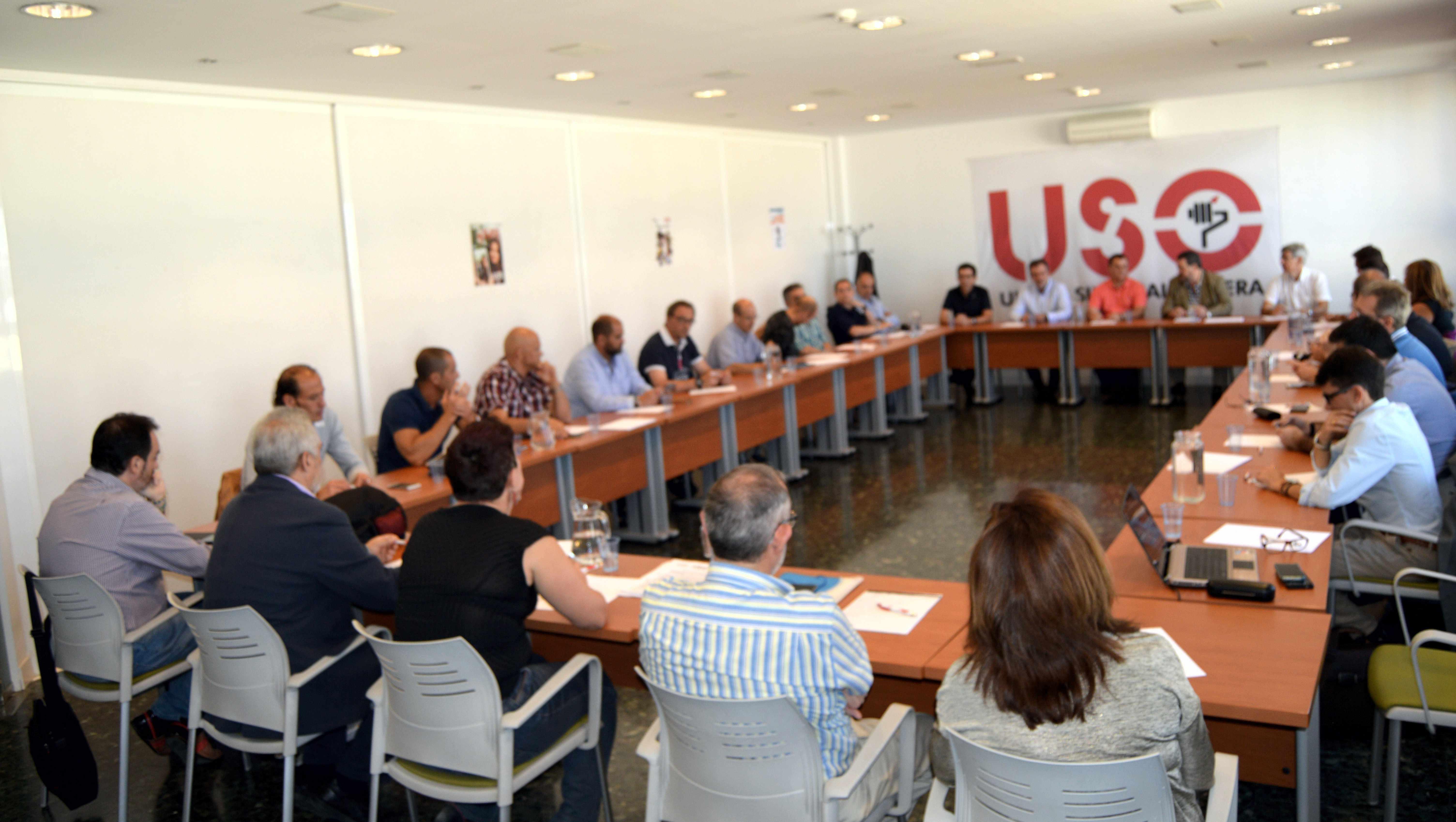 20161006 firma convenio sitel madrid reuni n delegados uso for Convenio oficinas y despachos madrid 2016