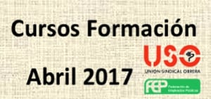 Cursos FEP-USO Abril 2017