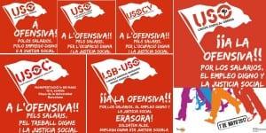 USO #ALaOfensiva 1mayo 17 manifestaciones web