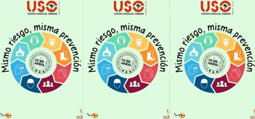 USO MISMO RIESGO MISMA PREVENCION  28ABRIL