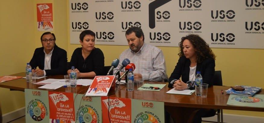 USO_Rueda de prensa 1 Mayo Oviedo
