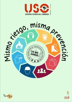 #MismoRiesgoMismaPrevencion 28 Abril