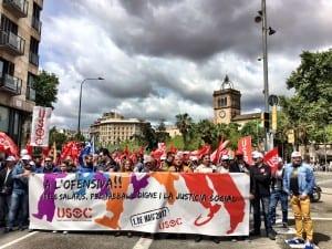 USOC en Barcelona.