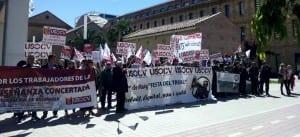 USO-CV en Valencia.