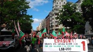 LSB-USO Euskadi en Bilbao.
