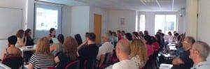 Formación en la sede de USO-Madrid.