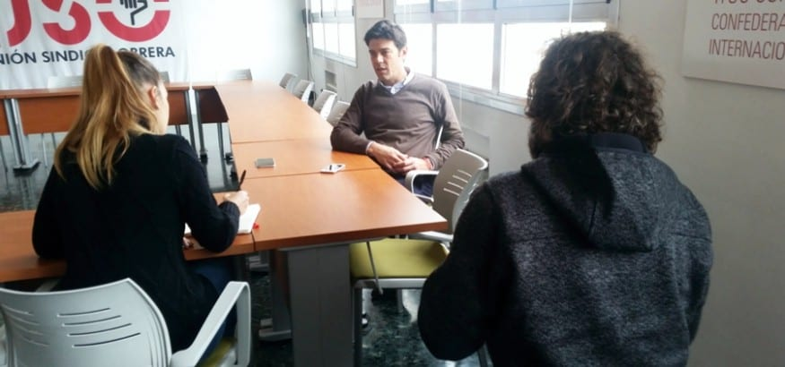 Joaquín Pérez_USO_entrevista_El Economista