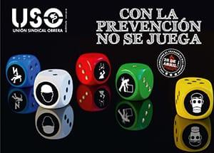 Con la prevención no se juega. Campaña 28 Abril