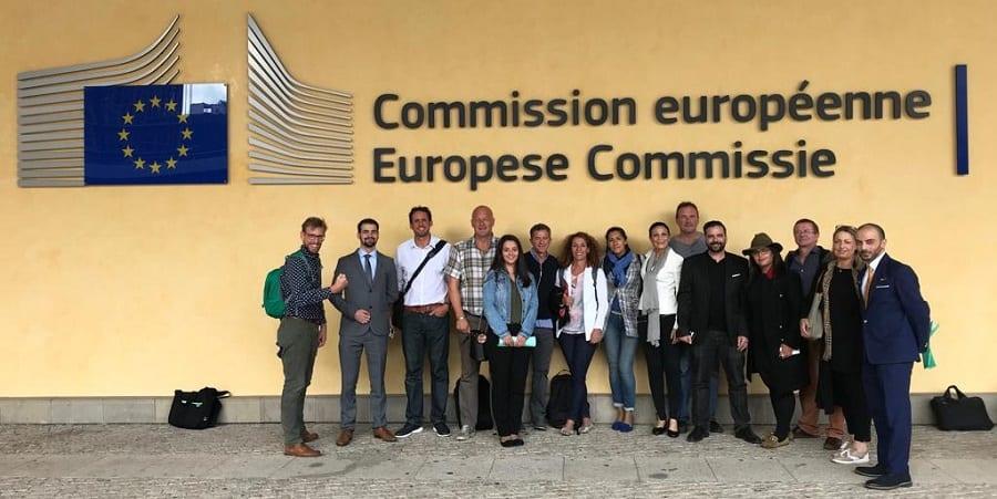 USO_Ryanair_Ernesto_Iglesias_Comision_Europea_Bruselas