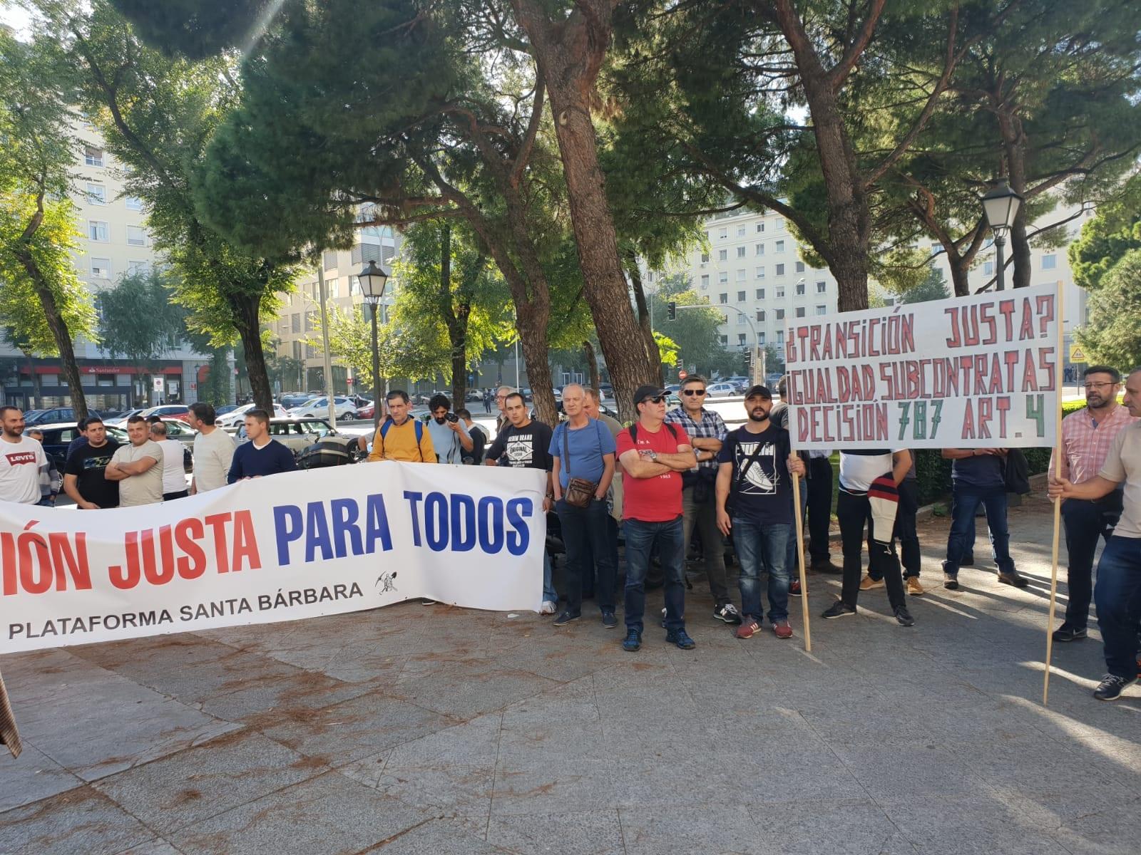 FI-USO_Protesta_Minería_carbón_3