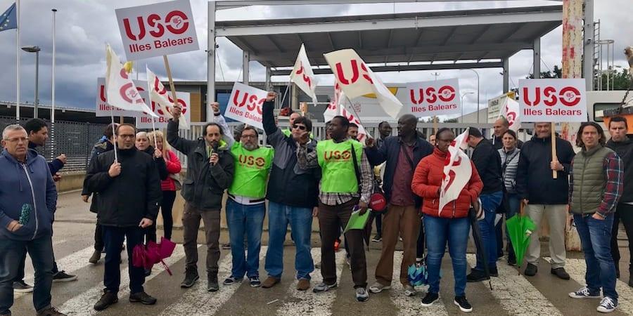 USO_Baleares_Protestas_Deixalles_Despido_Mamadou