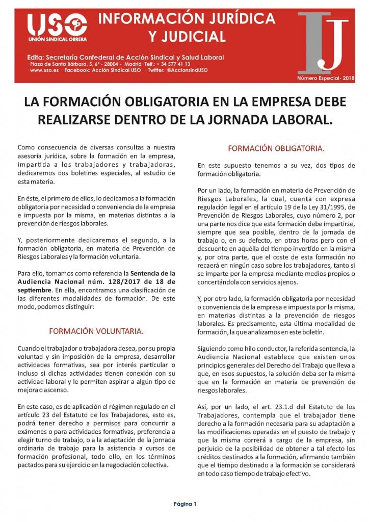 Boletín Información Jurídica Nº Especial Formación obligatoria 2018_Página_1