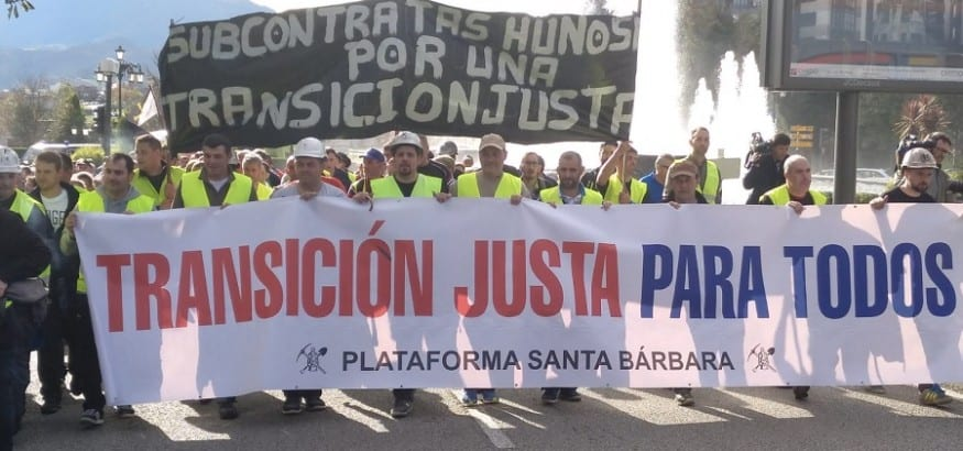 USO_marcha_minera_contratas_Oviedo