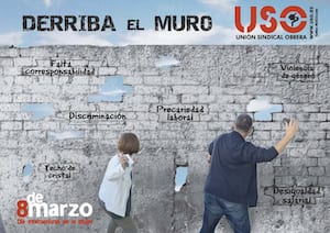 Derriba el muro. 8 de marzo 2019