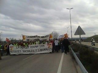 Segundo periodo de huelgas en Iberia