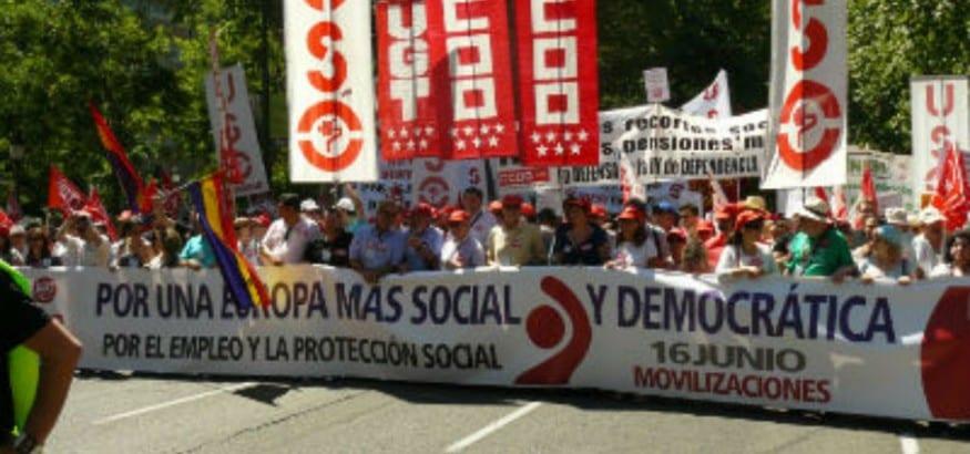16-J: culmina la semana de protestas con una llamada sindical a un cambio de política económica