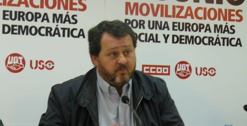 """Julio Salazar: """"no todo vale para salvar el euro y a las instituciones financieras"""""""