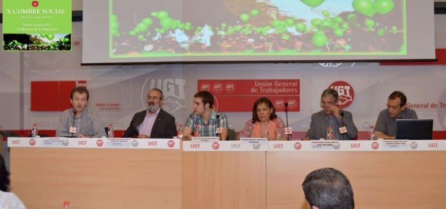 X Reunión de la Cumbre Social: monográfica sobre Educación