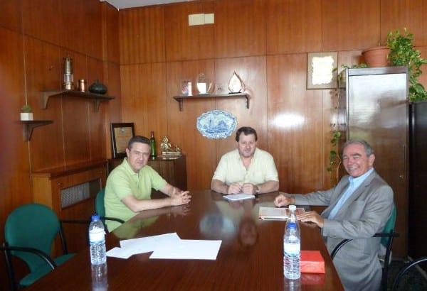 Reunión en Madrid de la USO con la UGT de Brasil