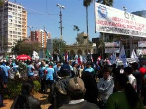 Las movilizaciones en Paraguay dan pie a la esperanza