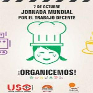 7 de octubre: Jornada Mundial por el Trabajo Decente