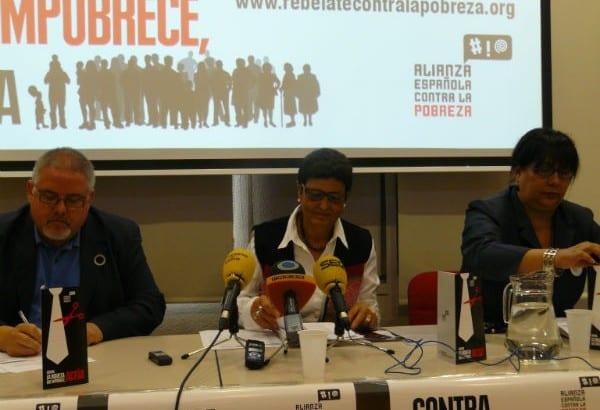 La Alianza Española contra la Pobreza hace un llamamiento a la sociedad española
