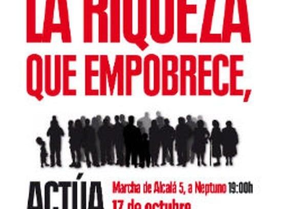Jueves 17 de octubre: Día Internacional para la Erradicación de la Pobreza