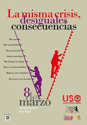 8 de marzo: Día Internacional de la Mujer. La misma crisis, desiguales consecuencias
