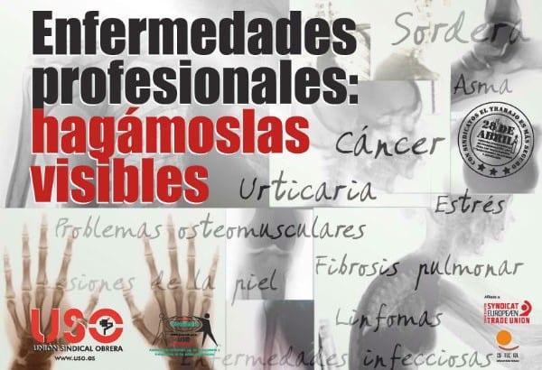28 de Abril de 2014, Día Mundial de la Seguridad y Salud en el Trabajo-Enfermedades profesionales: hagámoslas visibles