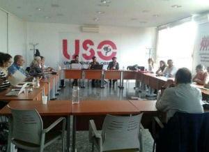Celebrado en la sede confederal de la USO en Madrid el último Plenario de Retorna