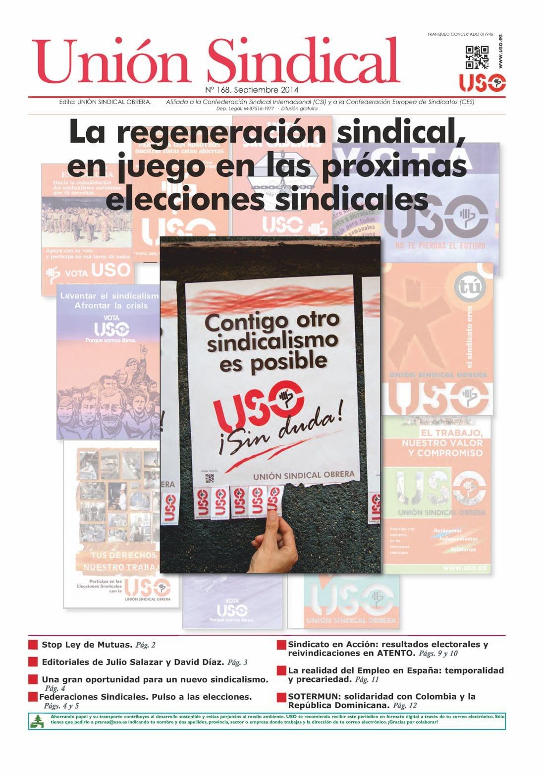 Unión Sindical 168