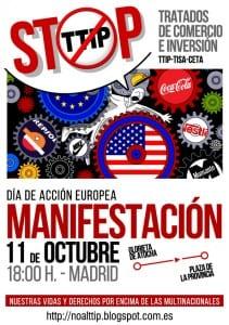 Manifestación 11 octubre