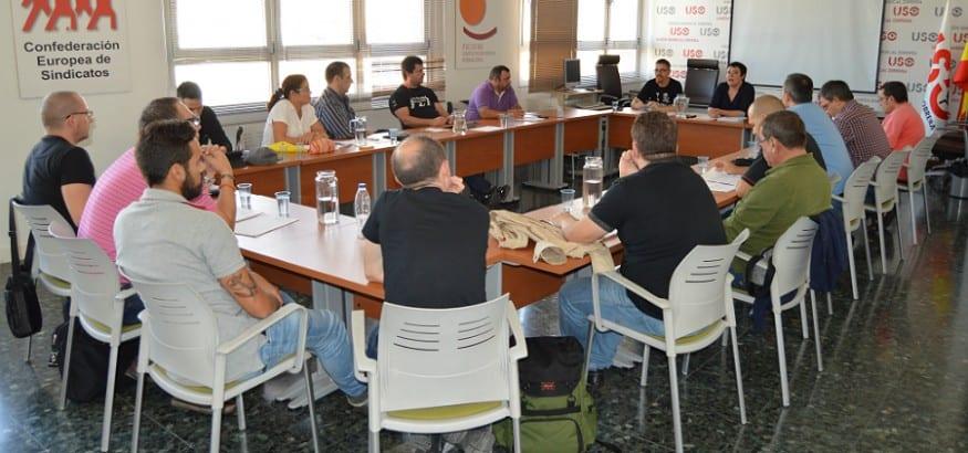 El Convenio Colectivo del sector Ambulancias, eje central en la reunión de trabajo de USO