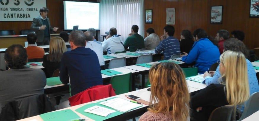 Cursos de formación sindical en Cantabria