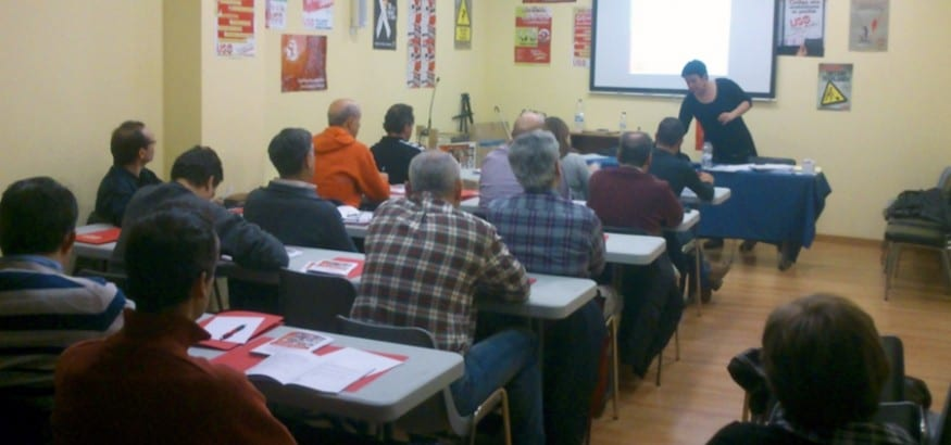 Nuevo curso de Formación Sindical Básica en Valladolid