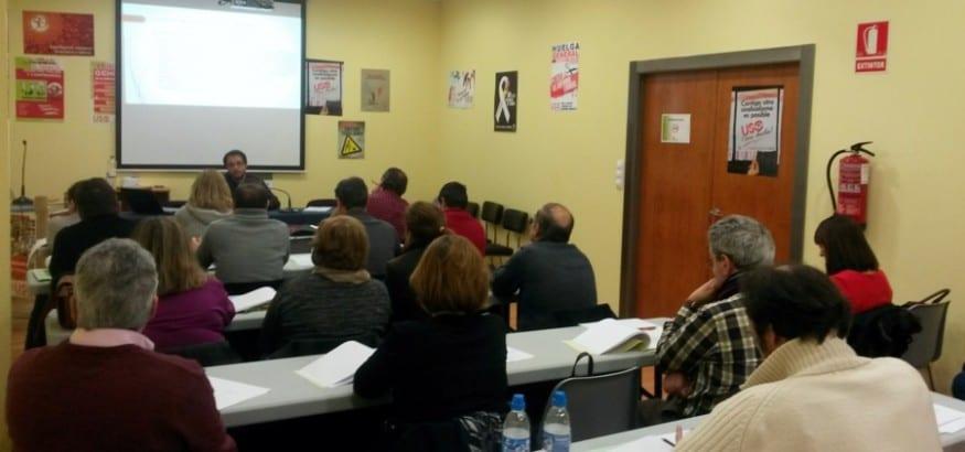 Delegados de USO Valladolid se forman en Derecho Procesal Laboral