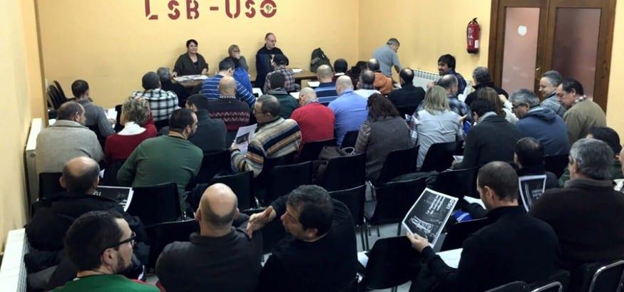 LSB-USO celebra su Asamblea de Delegados