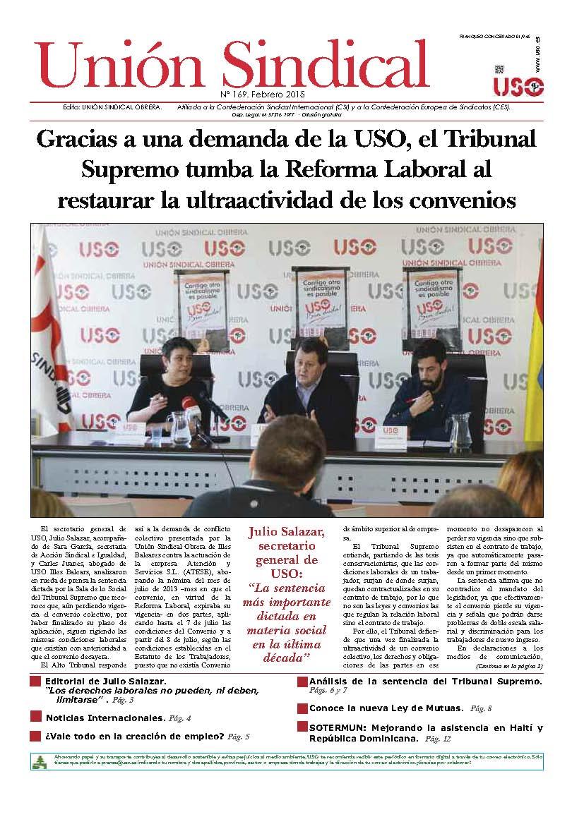 Unión Sindical 169