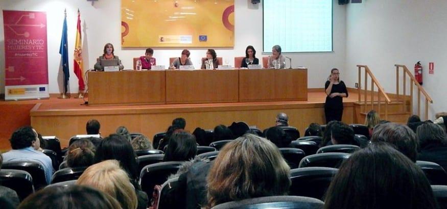 USO participa en el seminario Mujeres y TIC