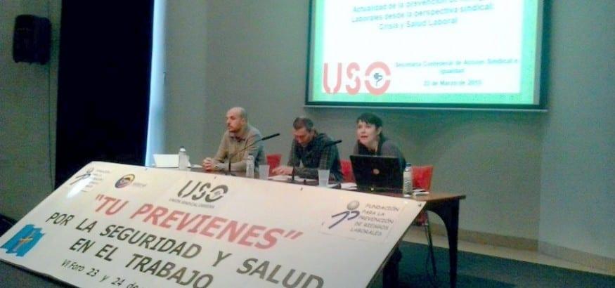USO Asturias celebró el VI Foro Tú previenes
