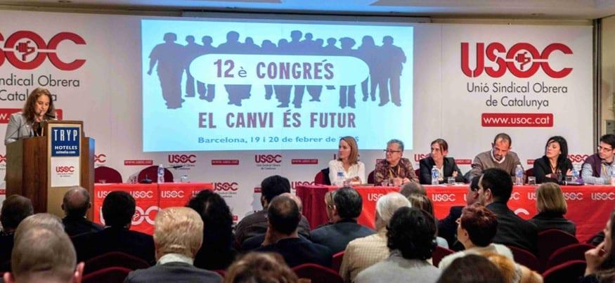 María Recuero, secretaria general de USOC