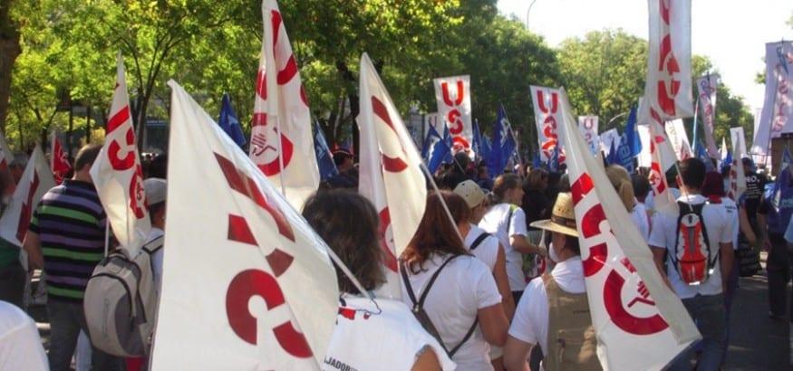 USO llama a la participación en los actos del 1º de mayo