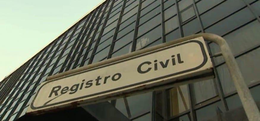 No a la Privatización del Registro Civil. Manifestación en Madrid el 11 de abril
