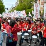 Manifestación por las calles de Madrid