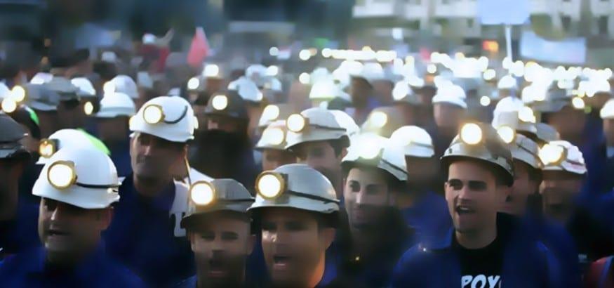 Concentración minera en Madrid el 22 de mayo en defensa de la orden de quema de carbón nacional
