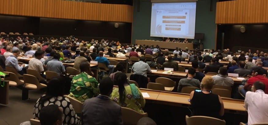 USO participa en la 104ª Conferencia de la OIT